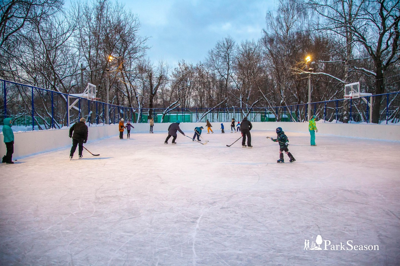 Каток в усадьбе «Люблино», Усадьба «Люблино», Москва — ParkSeason