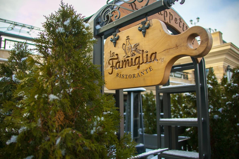 Ресторан итальянской кухни La Famiglia — ParkSeason