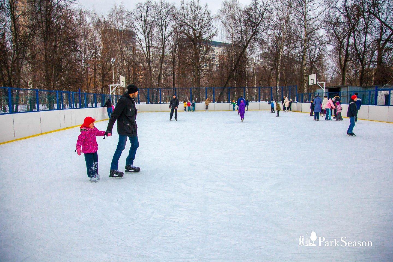 Каток в парке «Березовая роща», Парк «Березовая роща», Москва — ParkSeason