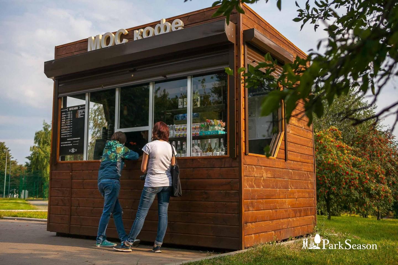 Уличная кофейня «МОС кофе», Парк «Садовники», Москва — ParkSeason