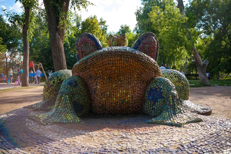 Арт-объект «Царевна лягушка» — ParkSeason
