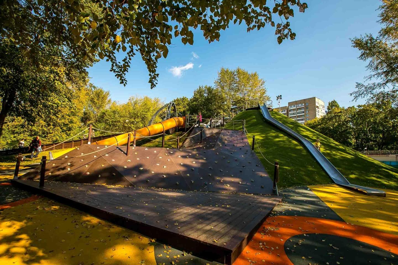 Скалодром, Делегатский парк, Москва — ParkSeason