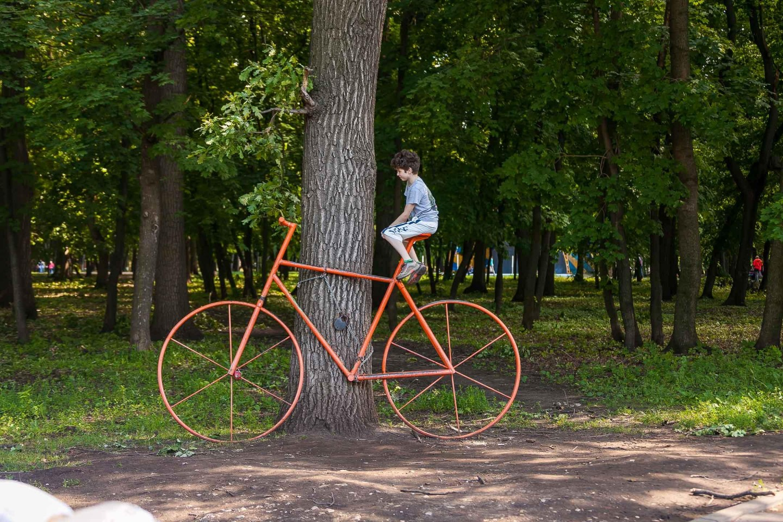 Арт-объект «Велосипед» — ParkSeason