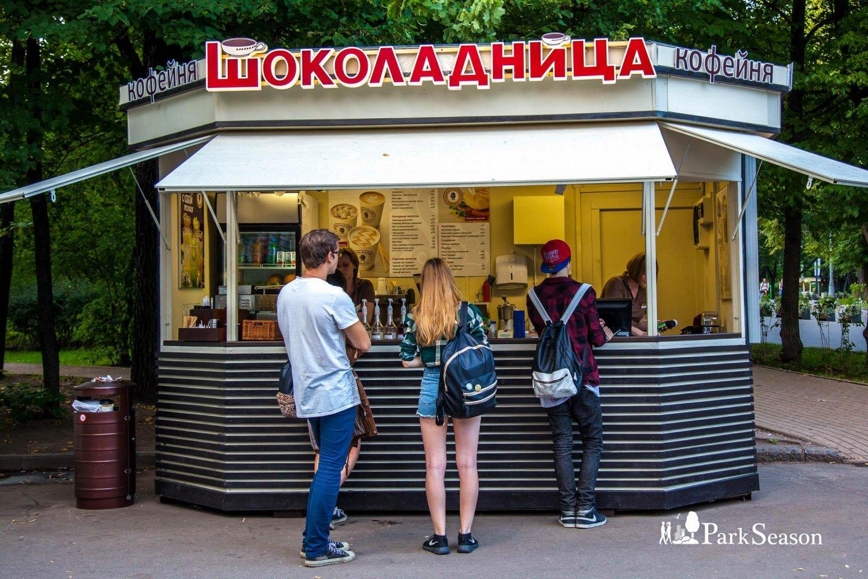 Киоск «Шоколадница», Парк «Сокольники», Москва — ParkSeason