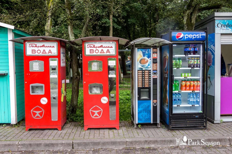 Автоматы с напитками — ParkSeason