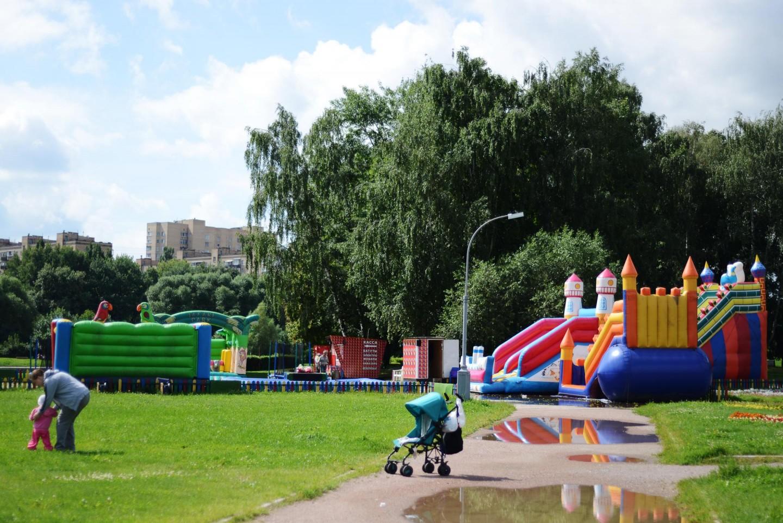 Батутный городок, Парк Дружбы, Москва — ParkSeason
