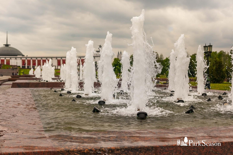 Фонтаны, Парк Победы на Поклонной горе, Москва — ParkSeason