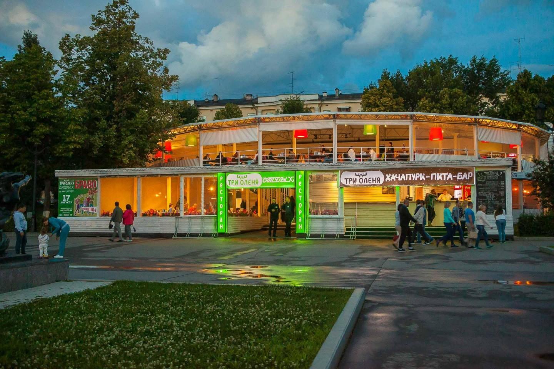 Ресторан «Три оленя» — ParkSeason