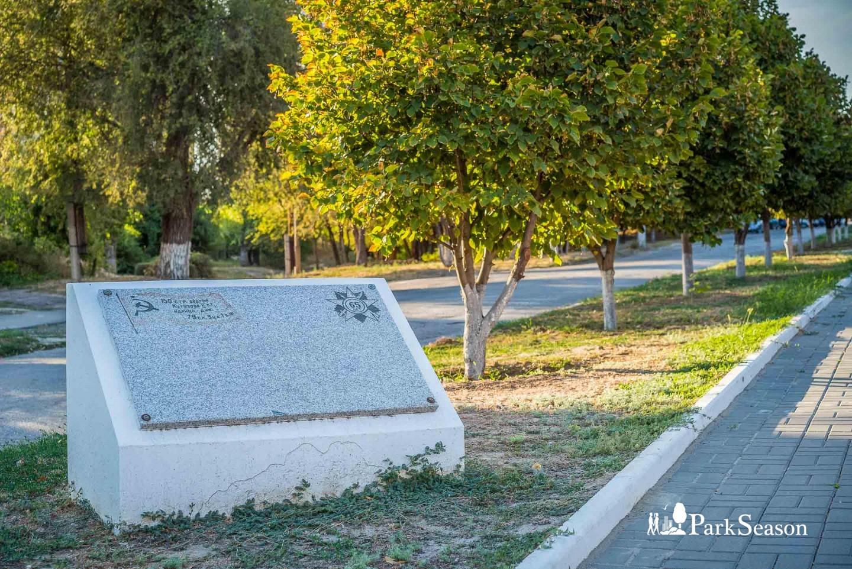 Памятные камни на аллеи — ParkSeason