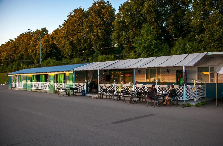 Кафе «Нулевой причал», Парк Северного речного вокзала, Москва — ParkSeason