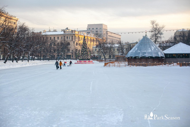 Каток на Чистых прудах, Чистые пруды, Москва — ParkSeason