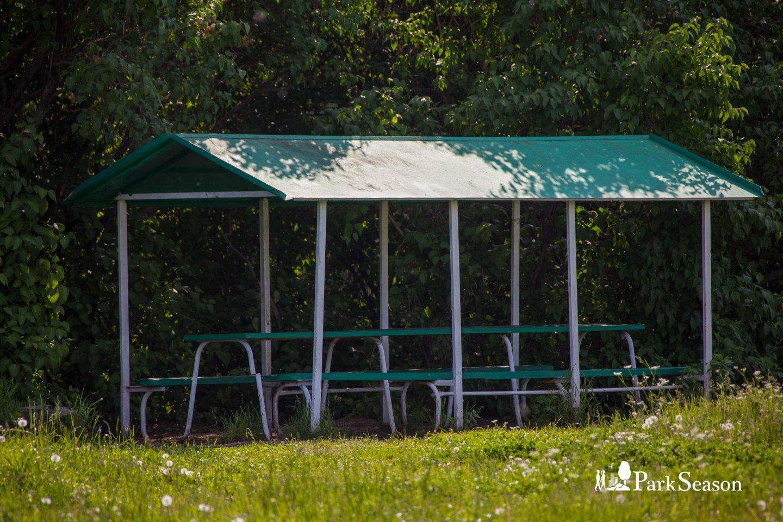 Беседка, Строгинский парк, Москва — ParkSeason