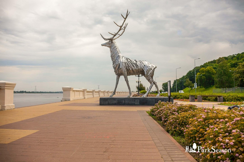 Скульптура «Олень» — ParkSeason