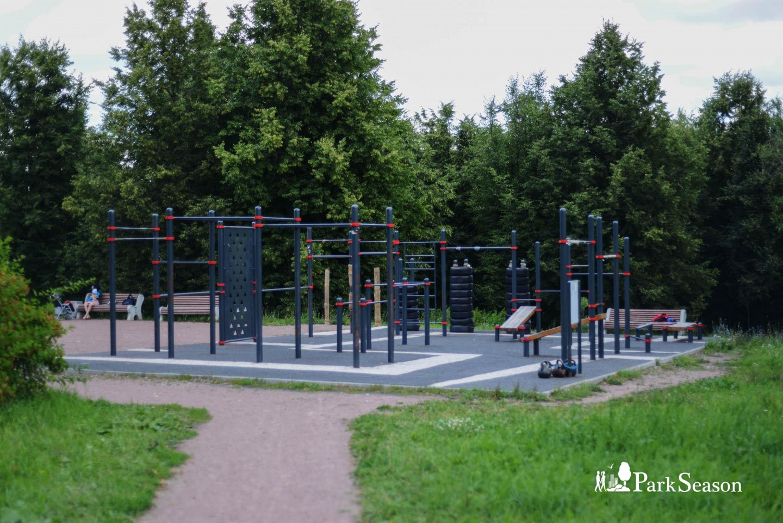 Площадка WorkOut, Парк 50-летия Октября, Москва — ParkSeason