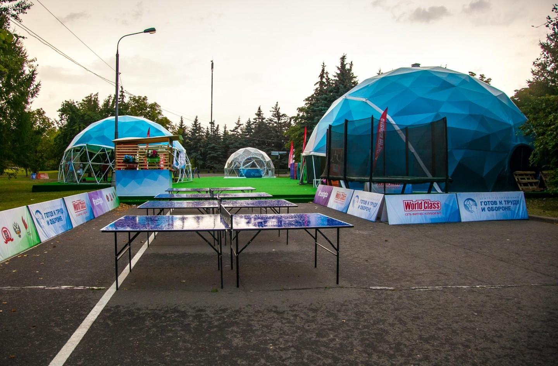 Площадка WorldClass, Парк Победы на Поклонной горе, Москва — ParkSeason