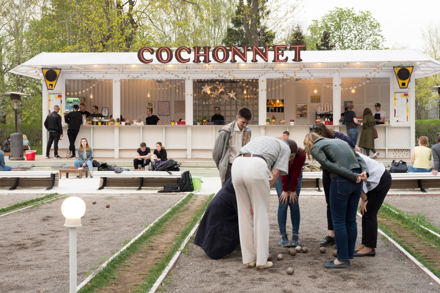 Cochonnet Cafe — ParkSeason