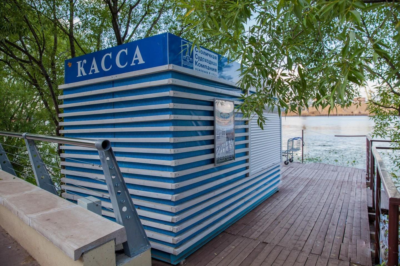 Касса речных теплоходов, Парк «Северное Тушино», Москва — ParkSeason