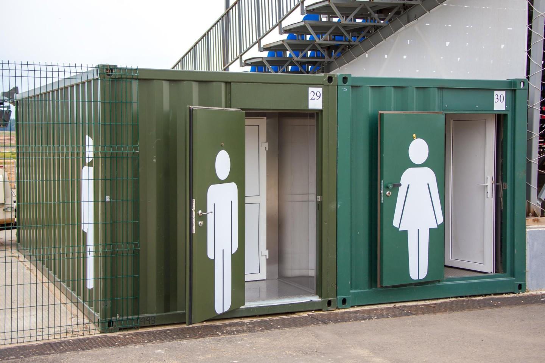 Туалет, Парк «Патриот», Москва — ParkSeason