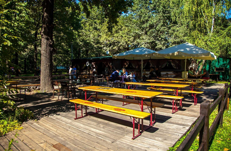 Кафе «Лето», Парк имени Льва Толстого (Химки), Москва — ParkSeason