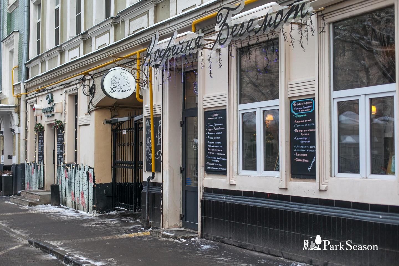 Кофейня «Бегемот», Патриаршие пруды, Москва — ParkSeason