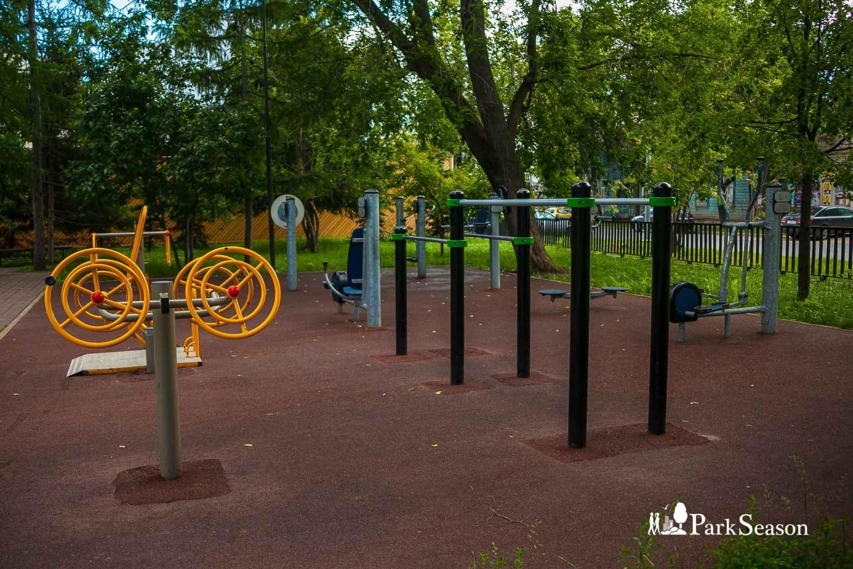 Уличные тренажеры/WorkOut — ParkSeason