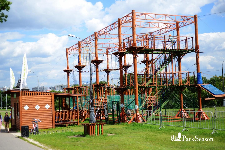Веревочный парк «ПандаПарк», Усадьба «Коломенское», Москва — ParkSeason