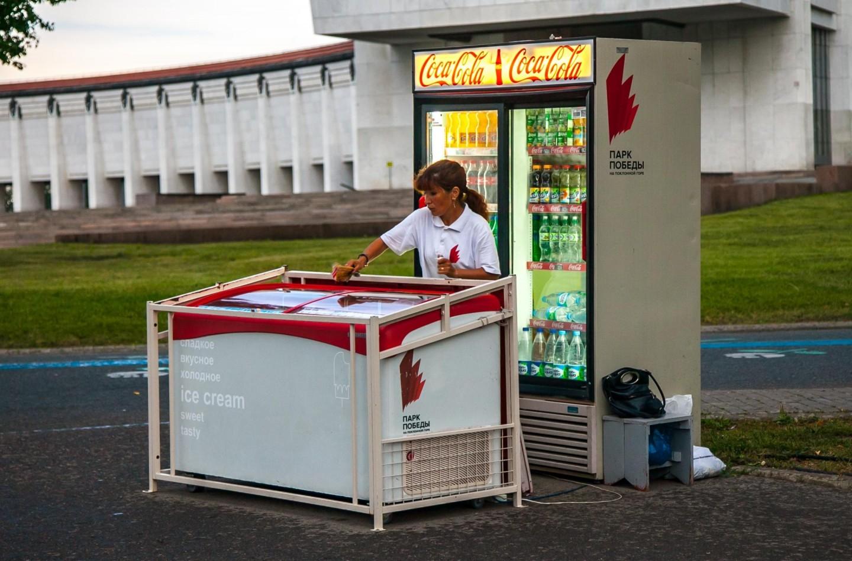 Мороженое, Парк Победы на Поклонной горе, Москва — ParkSeason