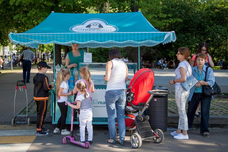 Мороженое «33 пингвина», Парк «Сокольники», Москва — ParkSeason