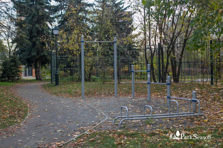 Площадка WorkOut, Сиреневый сад, Москва — ParkSeason