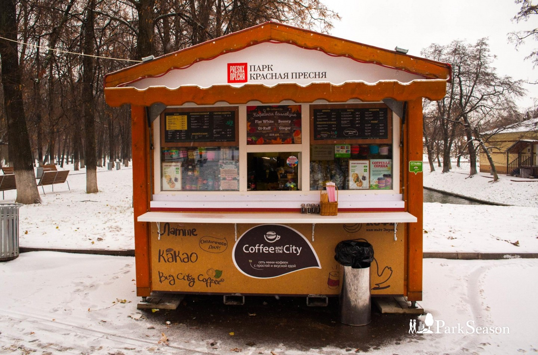 Киоск Сoffee and the City, Парк «Красная Пресня», Москва — ParkSeason