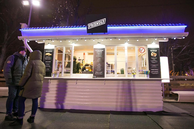Киоск «GlowSubs», Парк Горького, Москва — ParkSeason