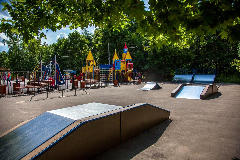 Детский скейт-парк, Парк «Сокольники», Москва — ParkSeason