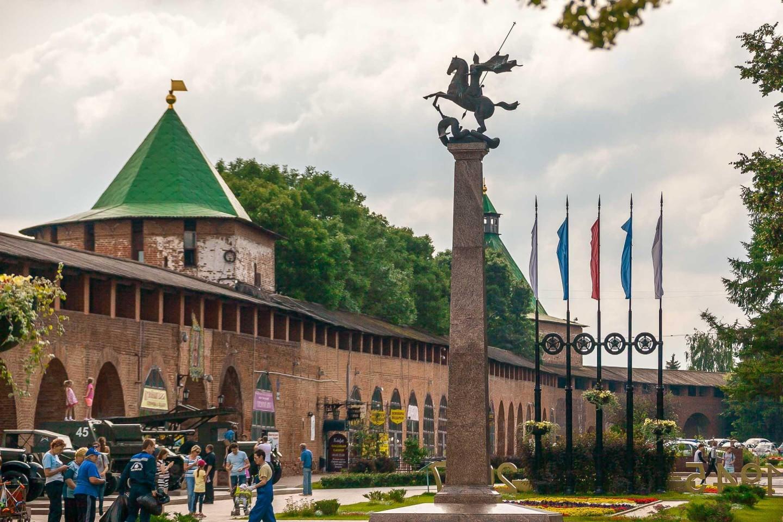 Скульптура «Георгий Победоносец» — ParkSeason