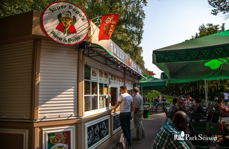 Кафе Super Papa's Pizza & Pasta, Парк «Измайловский», Москва — ParkSeason