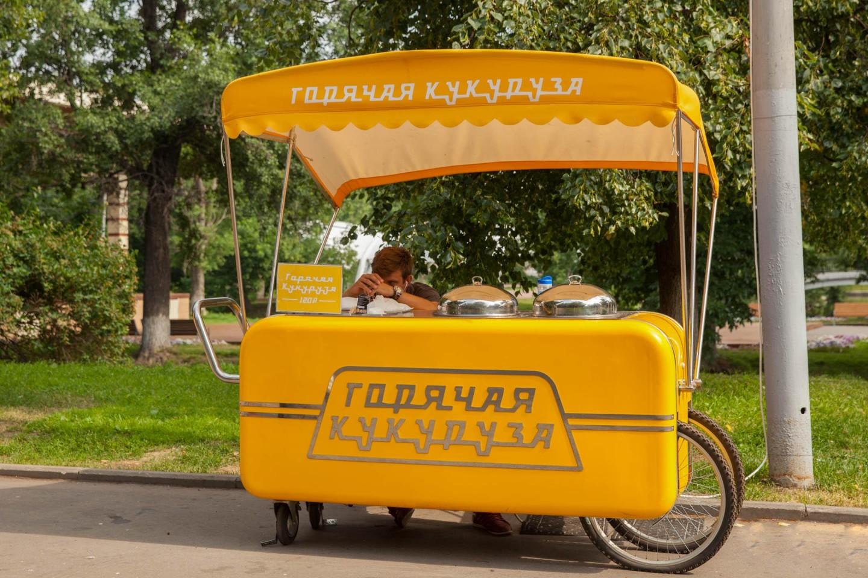 Горячая кукуруза, Парк «Красная Пресня», Москва — ParkSeason
