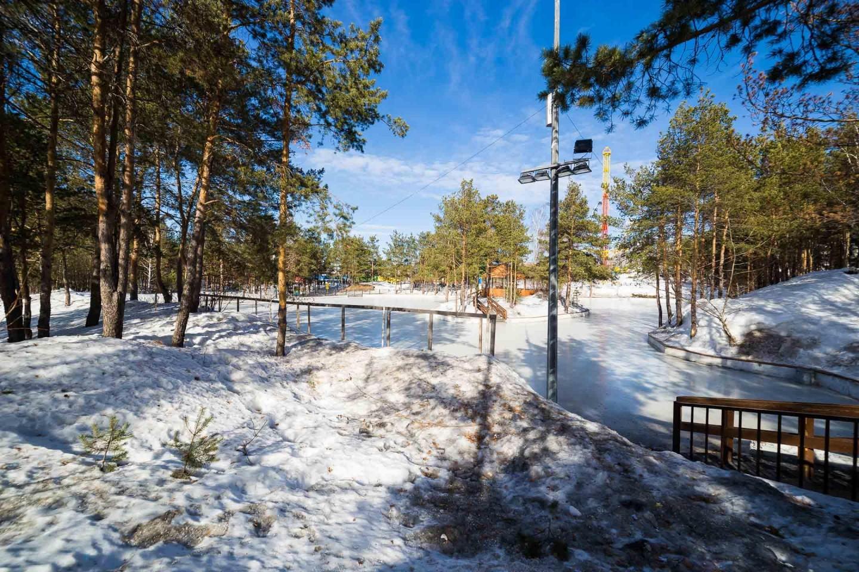 Каток в Радуга-парк (откроется в декабре 2018) — ParkSeason