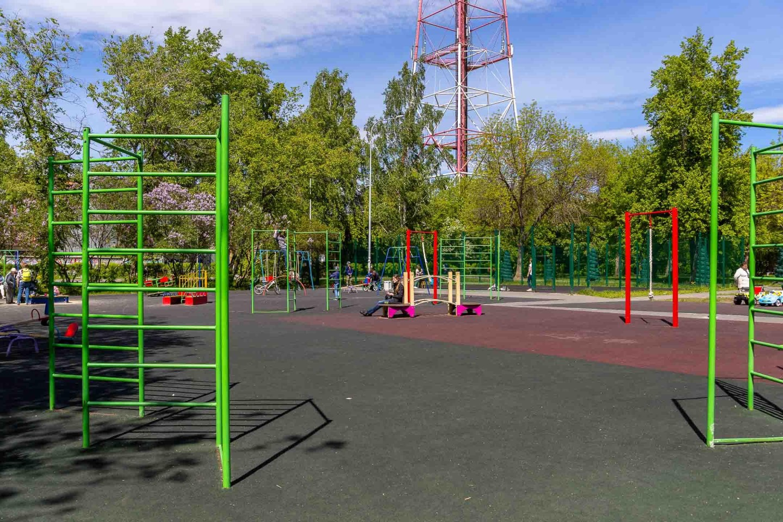 Детская спортивная площадка — ParkSeason