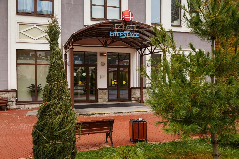 Отель AZIMUT Freestyle Rosa Khutor 3* — ParkSeason