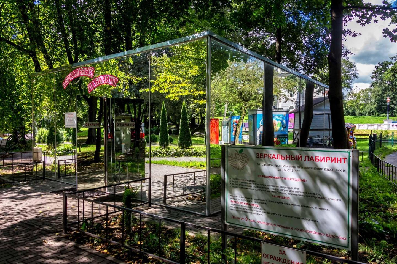 Зеркальный лабиринт — ParkSeason