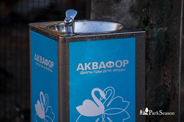 Питьевой фонтанчик, Московский зоопарк, Москва — ParkSeason