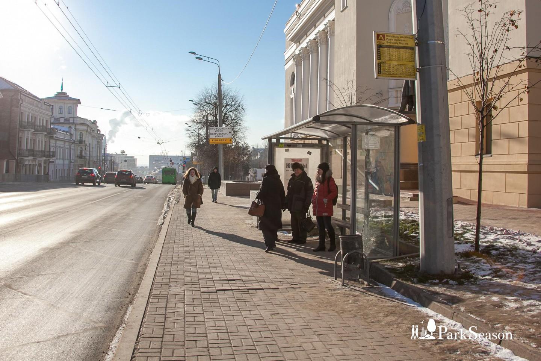 Остановка общественного транспорта «Площадь Свободы» — ParkSeason