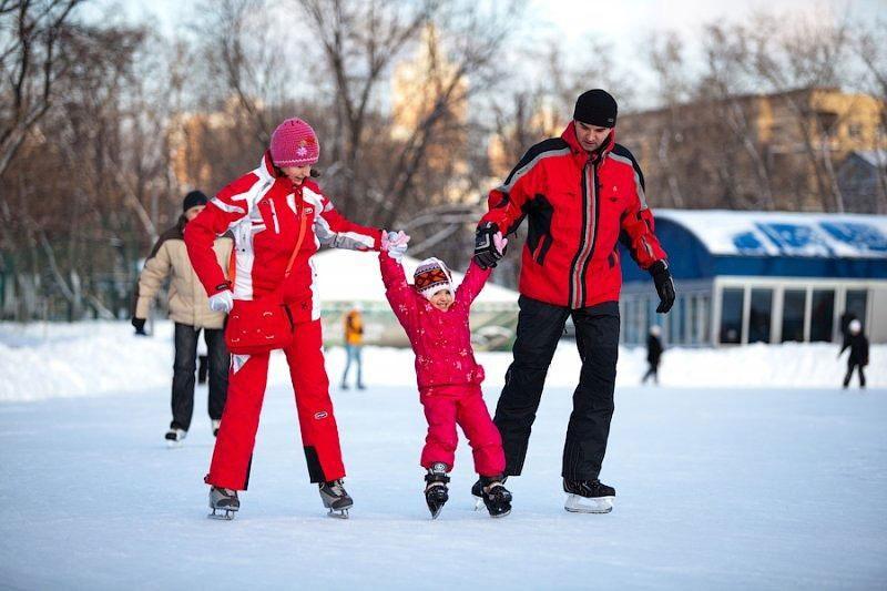 Каток в «Лапландия-парке»  — ParkSeason