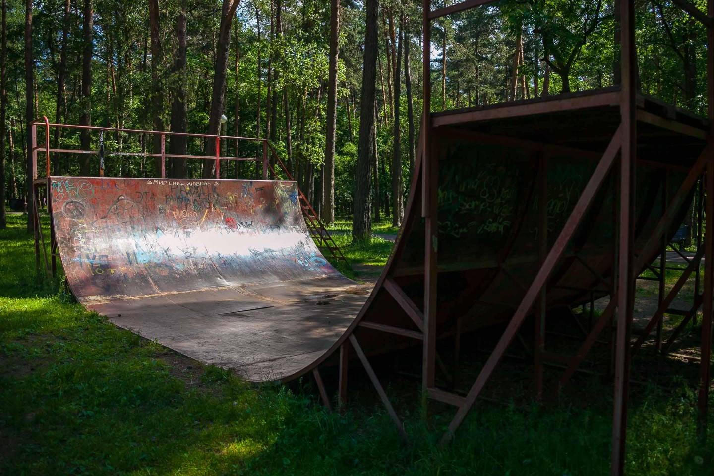 Скейт-рампа — ParkSeason