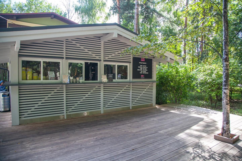 Кафе «Пион» (закрыто до мая 2019) — ParkSeason