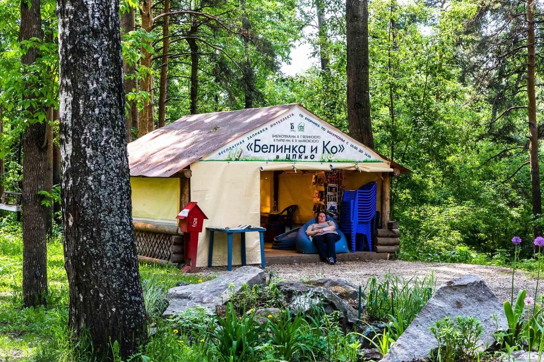 Библиотечная палатка Белинка и Ко — ParkSeason