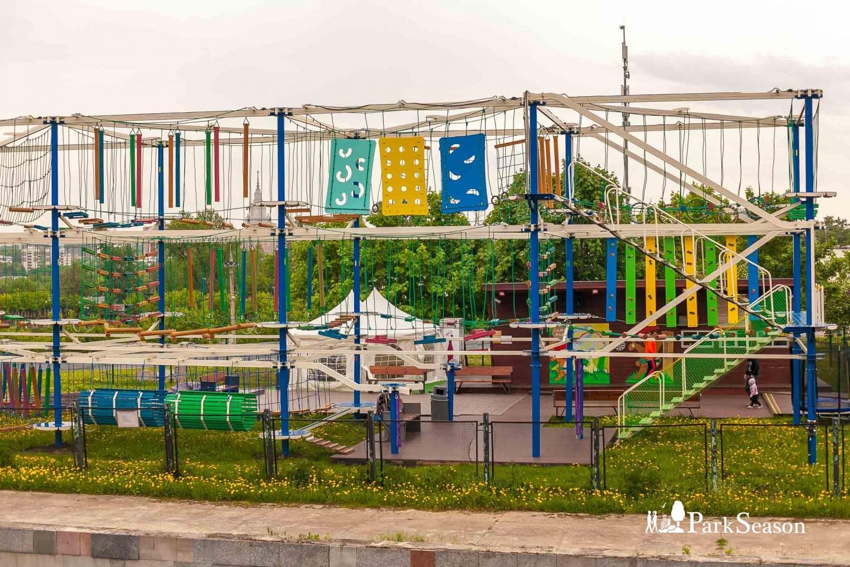 Веревочный парк «Gammy Park» (закрыт до мая 2019) — ParkSeason