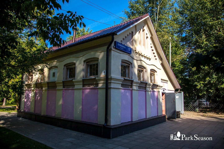 Туалет, Сквер Девичьего поля, Москва — ParkSeason