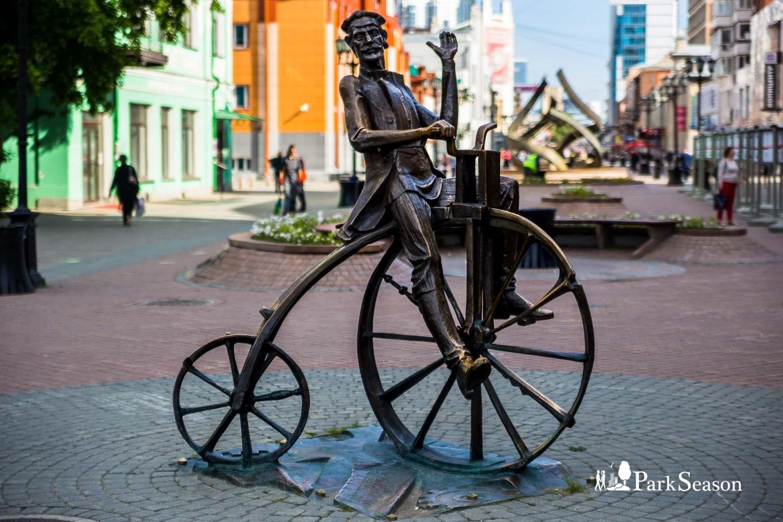 Памятник изобретателю велосипеда Е. М. Артамонову — ParkSeason