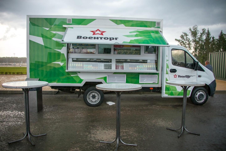 Фургон с едой, Парк «Патриот», Москва — ParkSeason