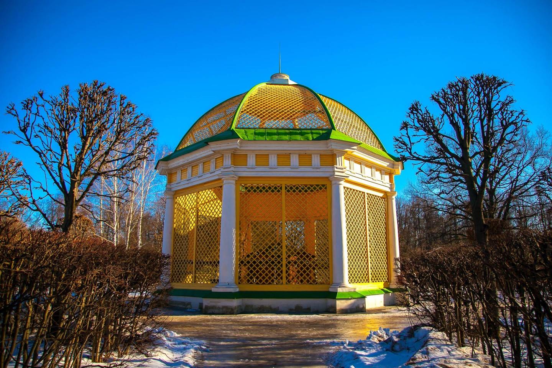 Вольер для птиц, Усадьба Кусково, Москва — ParkSeason